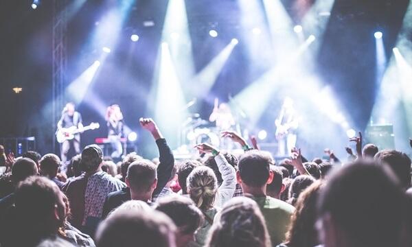 Music rock festival